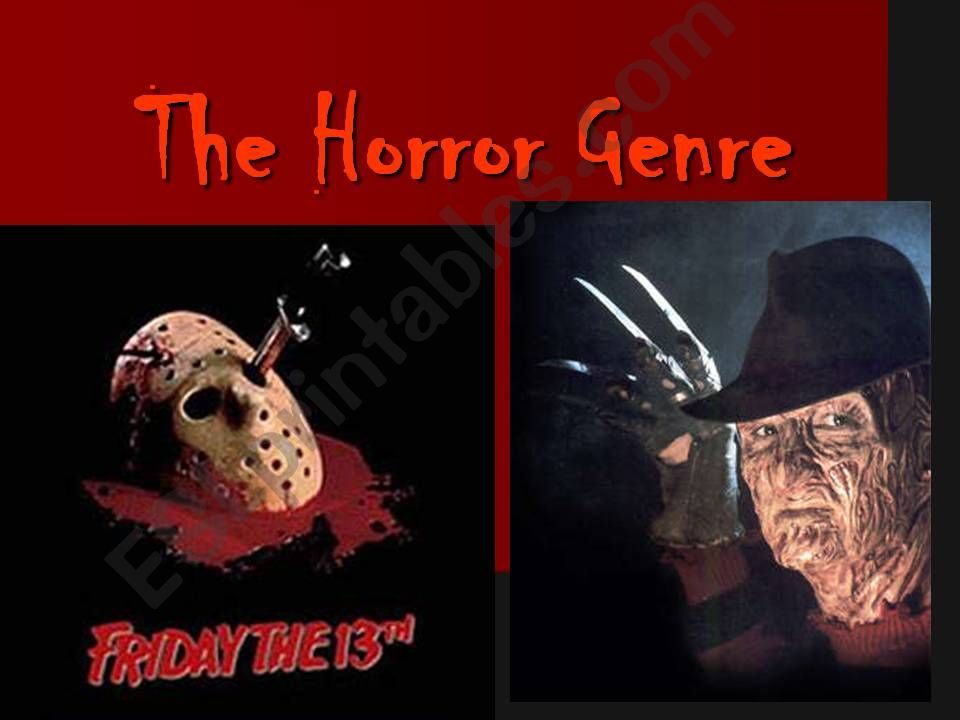 Introduction to the Horror Genre
