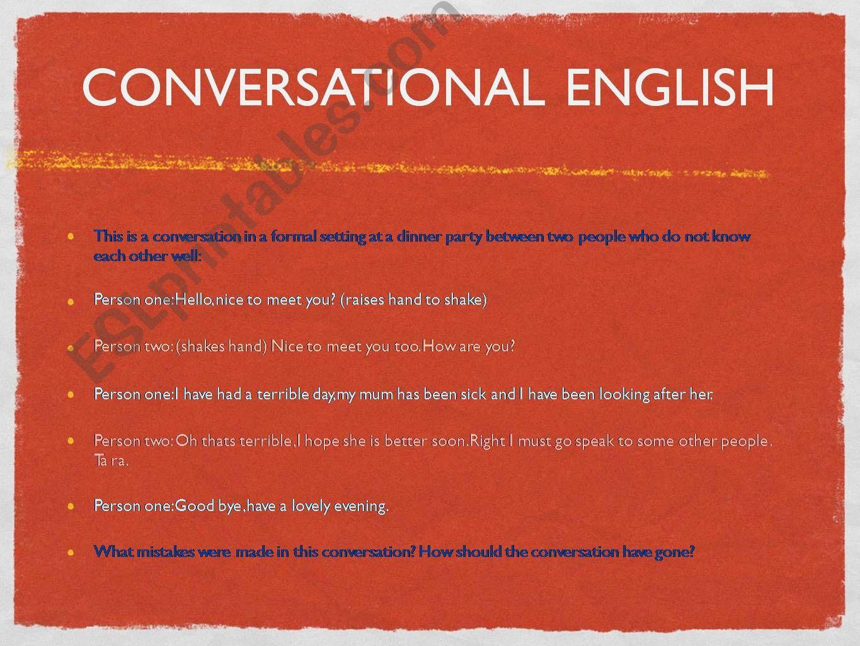 ESL - English PowerPoints: Slang