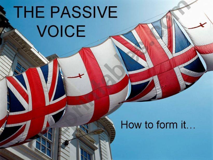The Passive Voice powerpoint
