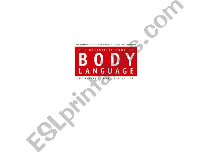 body language powerpoint