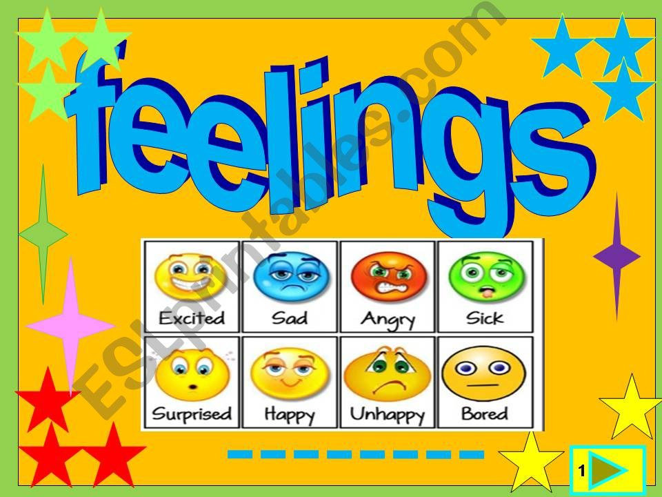 Feelings /multiple choice game