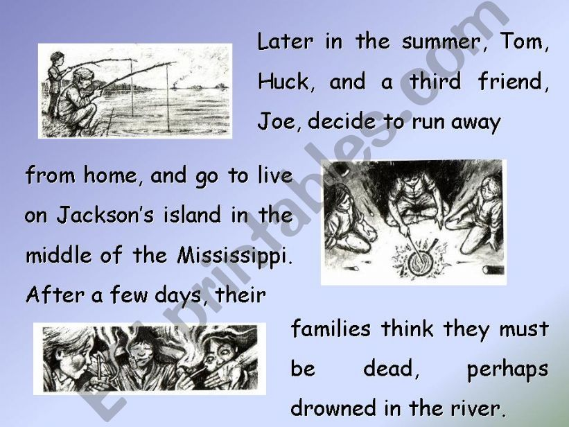 The Adventures of Tom Sawyer, by Mark Twain (PART 2)