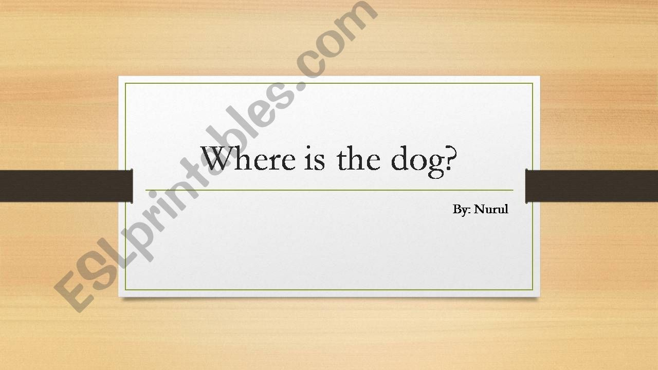 preposition of place powerpoint