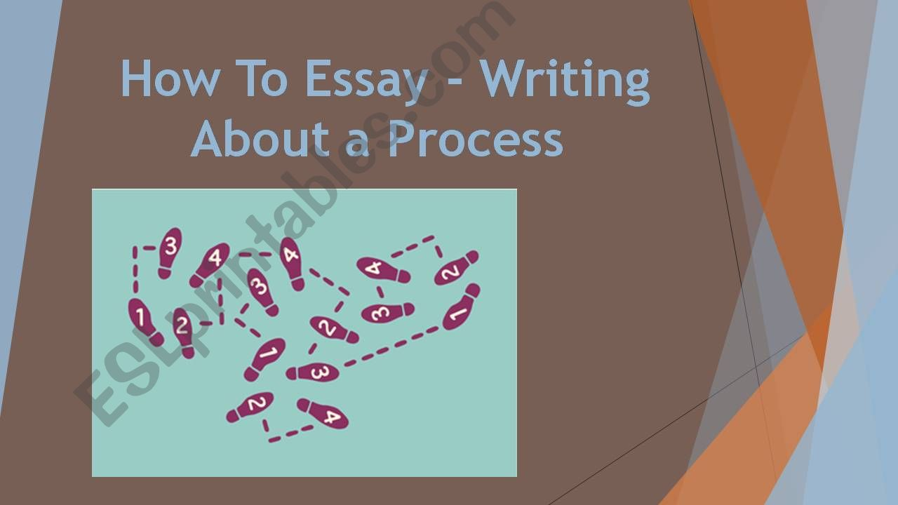 How to - Essay powerpoint