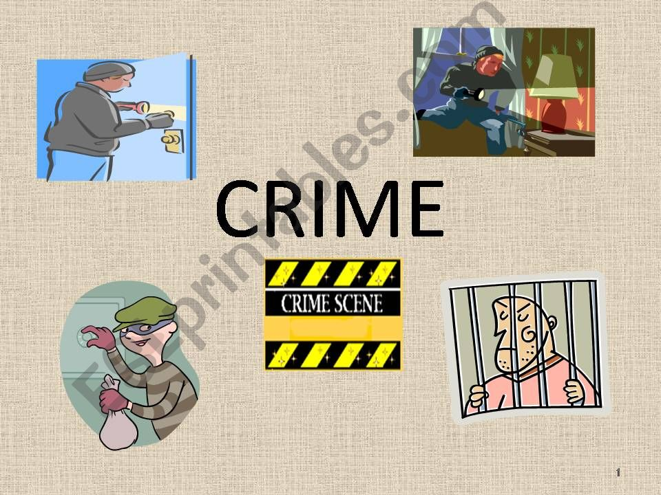 CRIMES AND CRIMINALS powerpoint