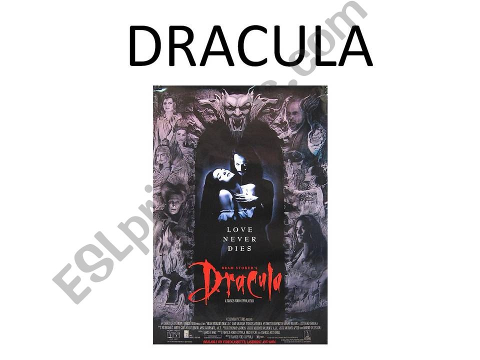 Dracula powerpoint