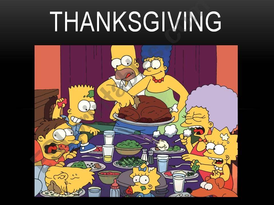 Thanksgiving powerpoint