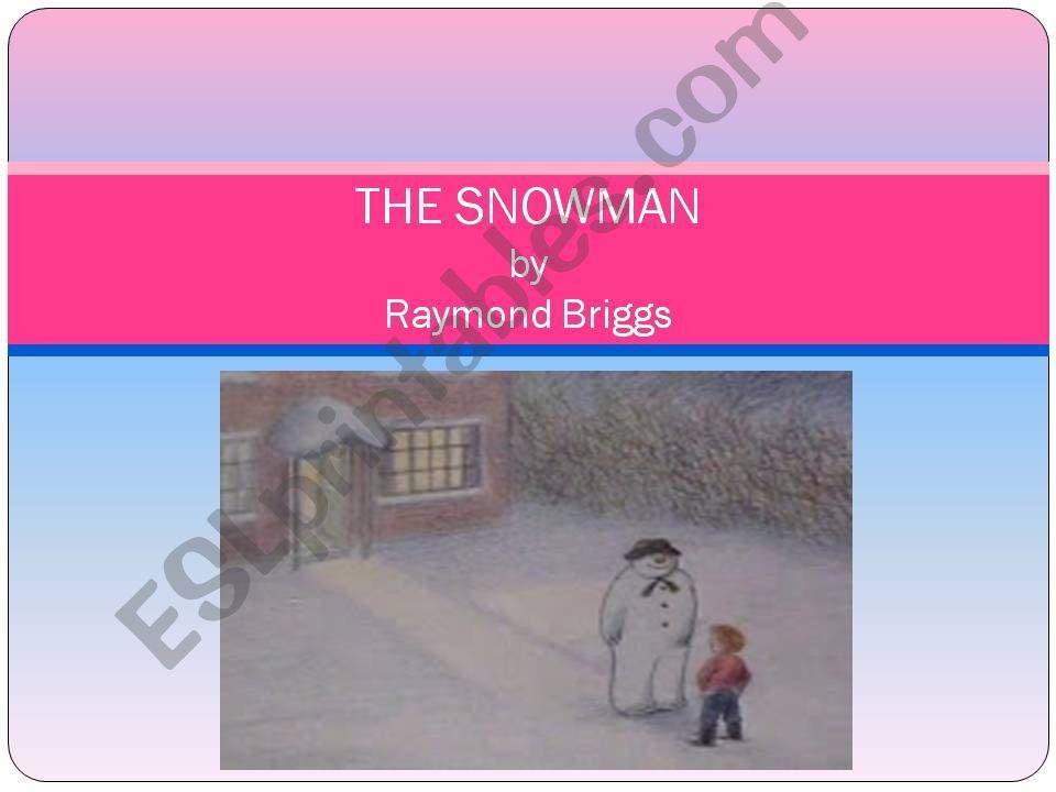 The Snowman, by Raymond Briggs summary, part 1