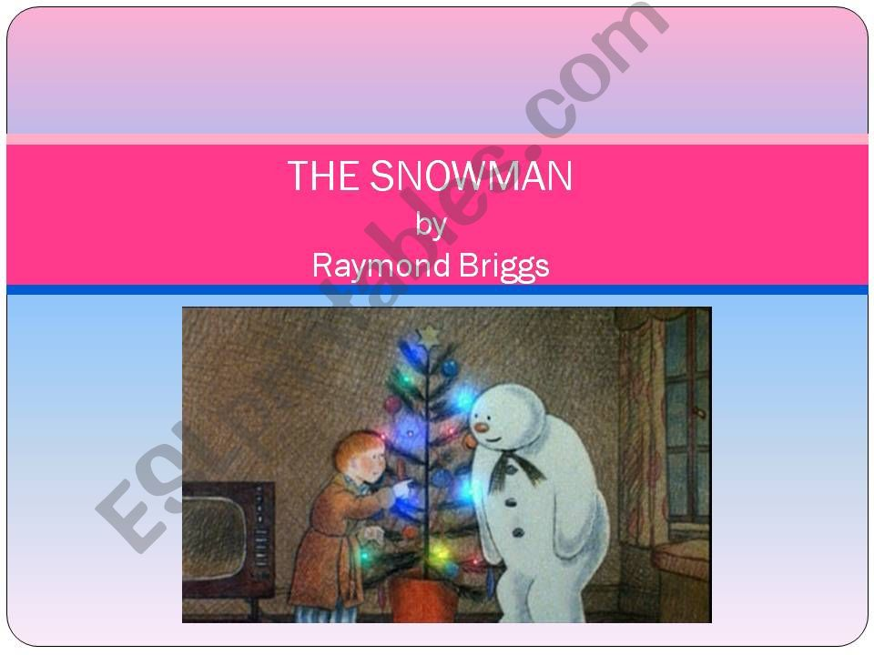 The Snowman, by Raymond Briggs summary, part 2