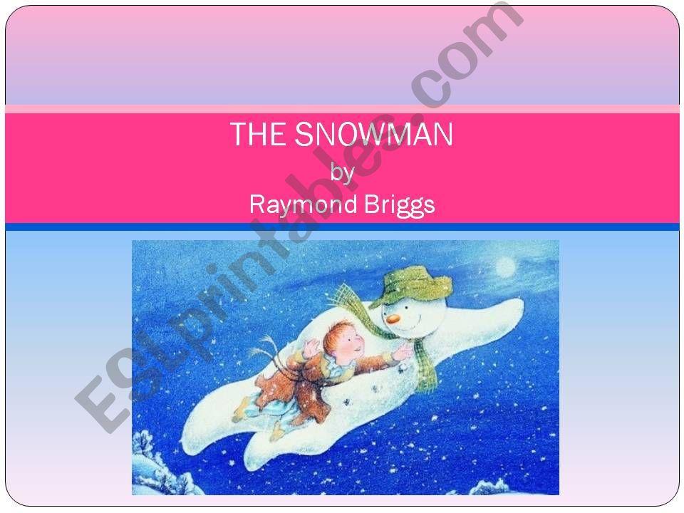 The Snowman, by Raymond Briggs summary, part 3