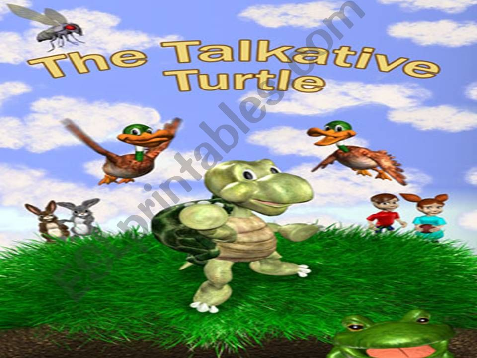 The Talkative Turtle - A fable ( short story )