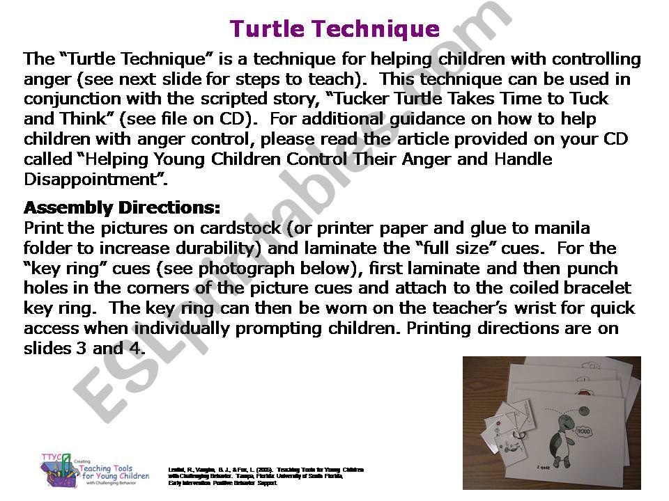 The Tucker Technique powerpoint