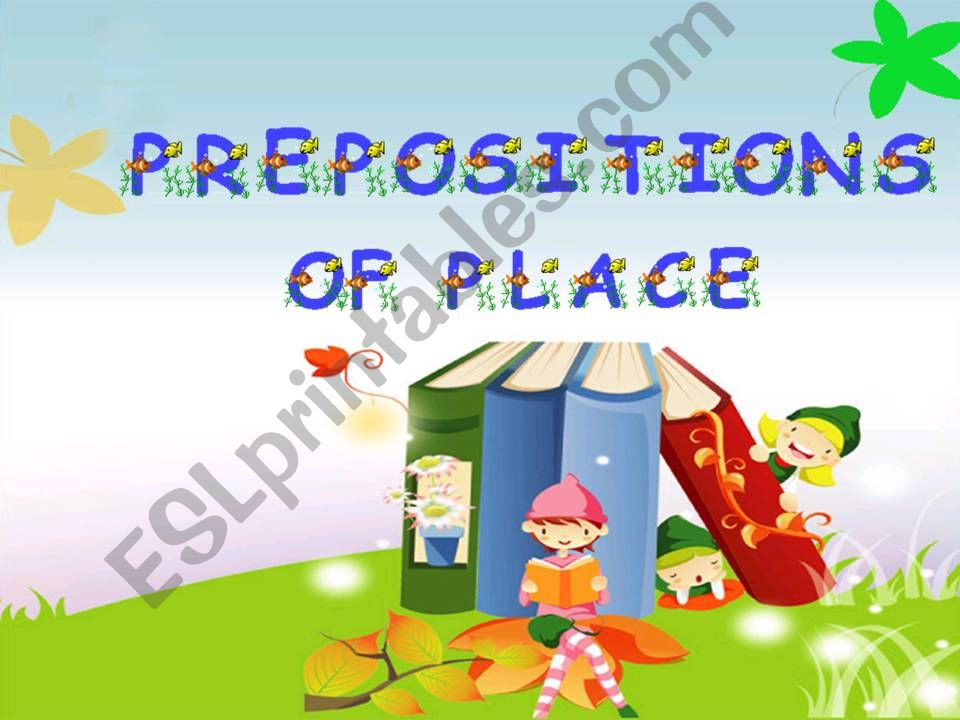 My Bedroom - Prepositions of place