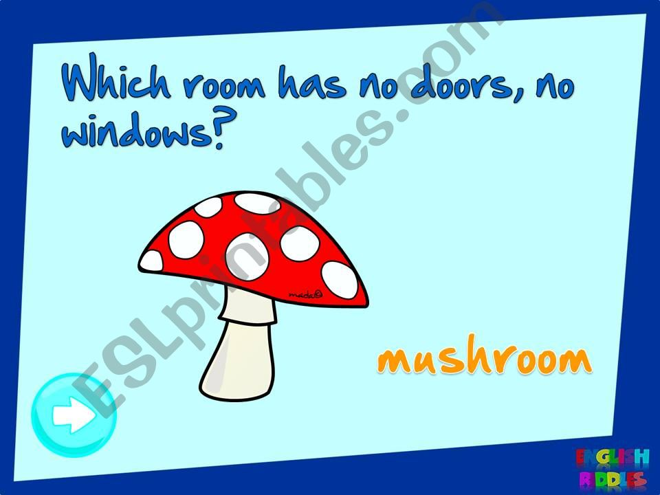 English riddles 2 (2/2) powerpoint