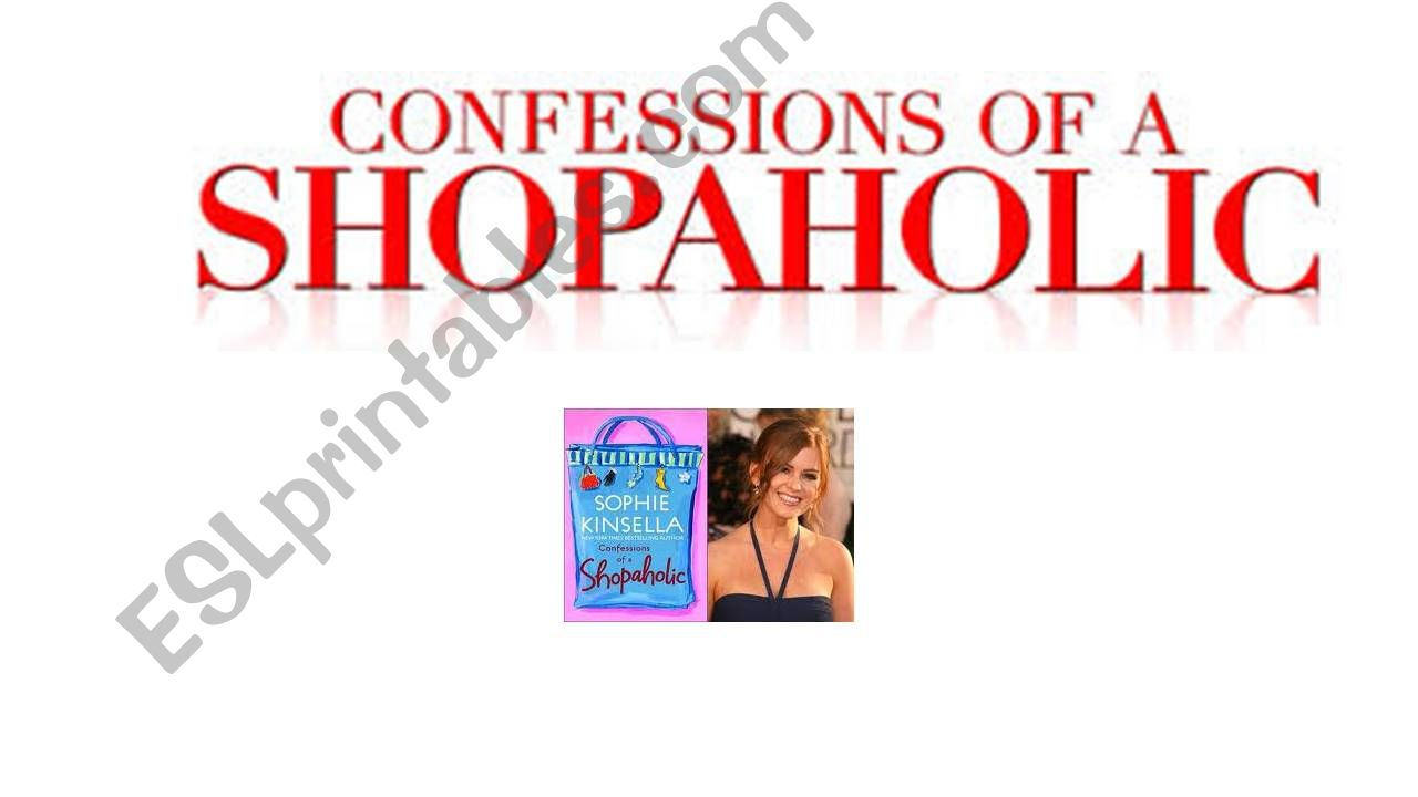 Confessions of a shopaholic- overture scene- presentation with key