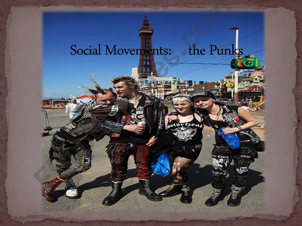 Social Movements: The Punks powerpoint
