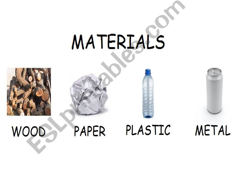 What´s made of? powerpoint