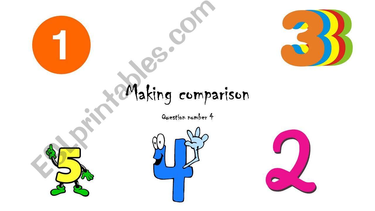 making comparison powerpoint