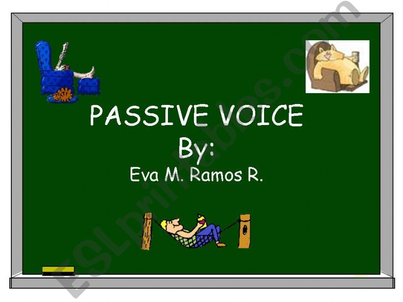 Passive Voice Review powerpoint