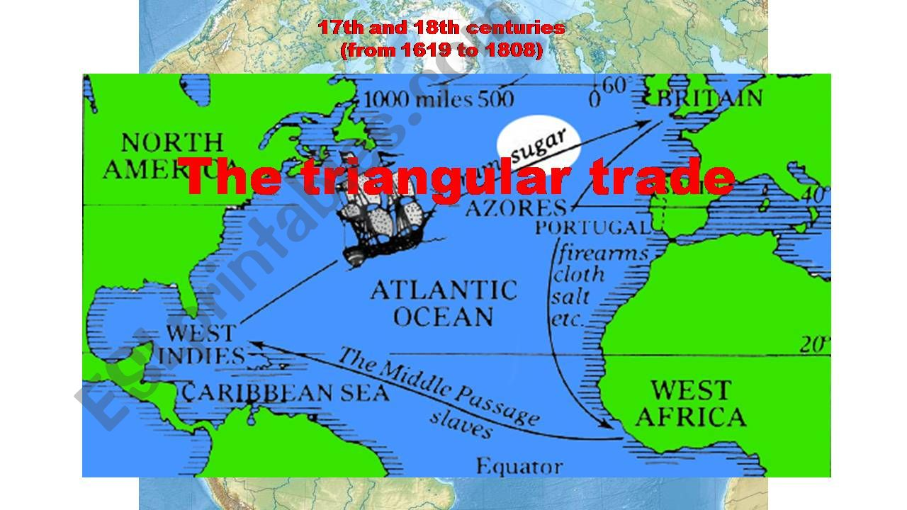 the Triangular Trade powerpoint