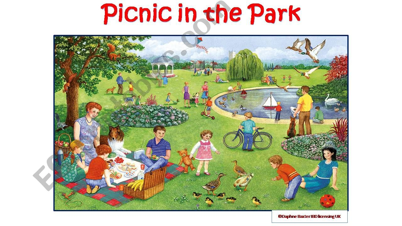 Picnic in the Park powerpoint