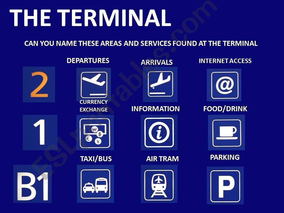 THE TERMINAL #3 - AIRPORT LOCATIONS AND SERVICES