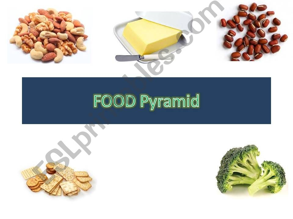 Food Pyramid powerpoint