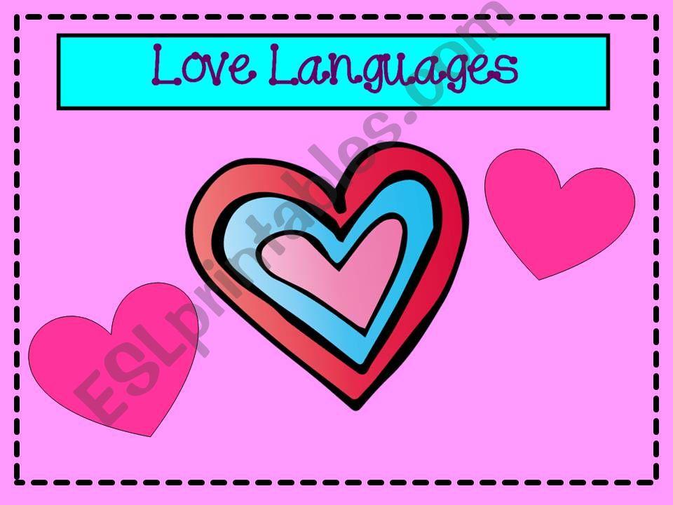 Love Languages Quiz Powerpoint