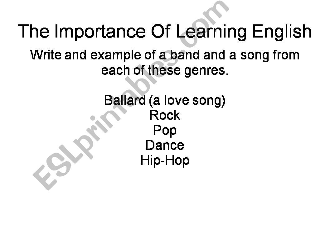 Ken Lee, The Importance Of Learning English