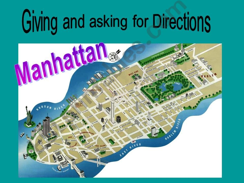 Giving and asking for directions - Manhattan