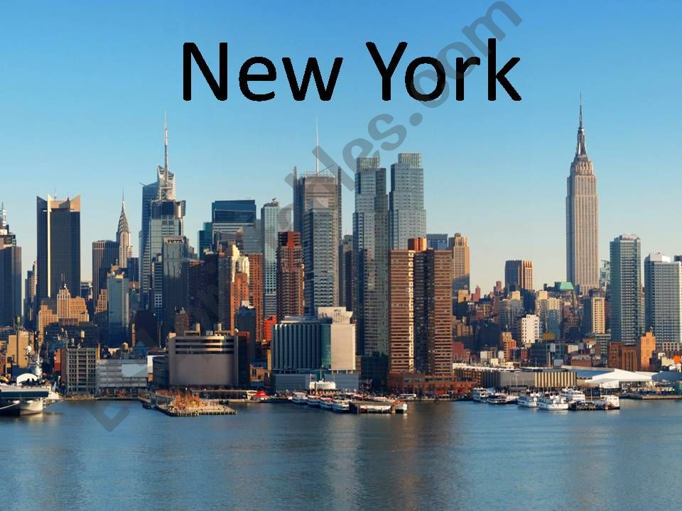Monuments New York powerpoint