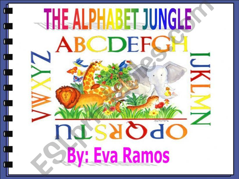 Alphabet Jungle 1 Letters A-N powerpoint