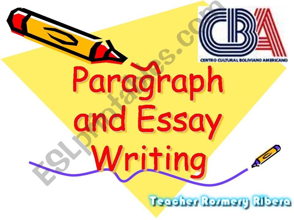 Argumentative Paragraph Writing
