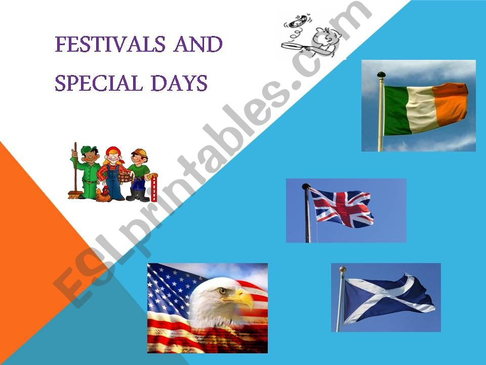festivals and special days powerpoint