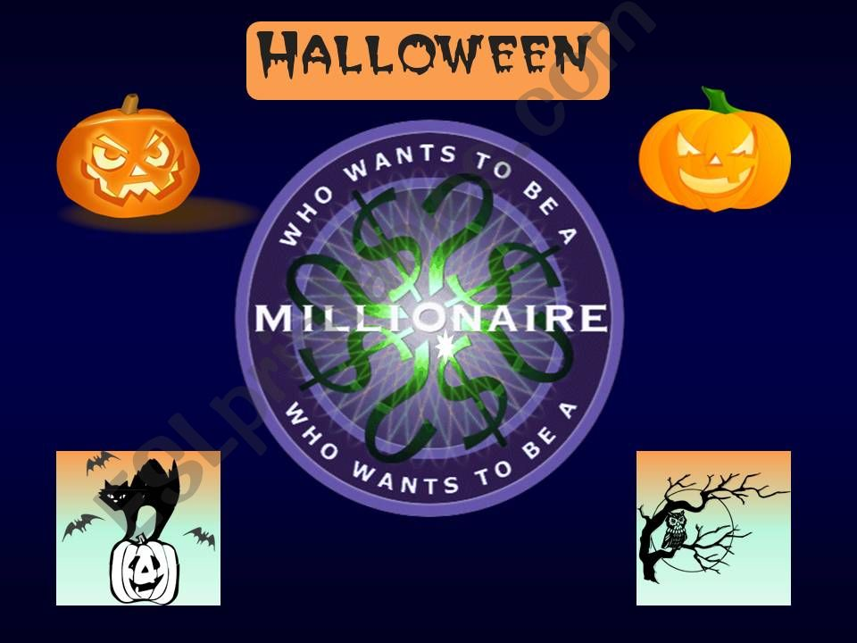 Halloween (Who Wants to Be a Millionaire Game)