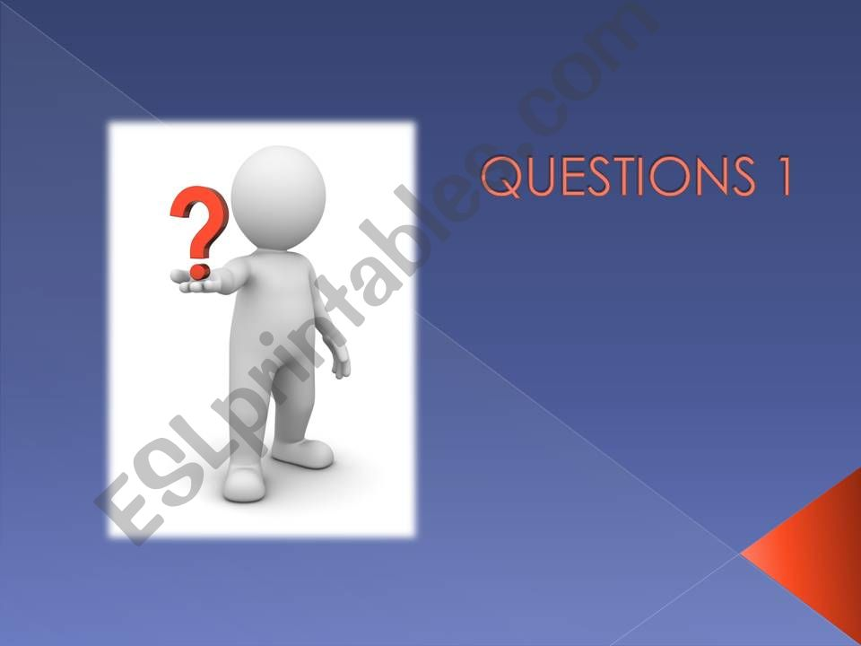 how to form questions powerpoint