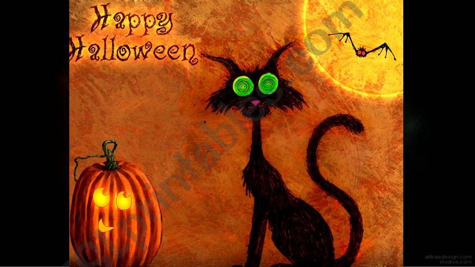 Happy Halloween powerpoint