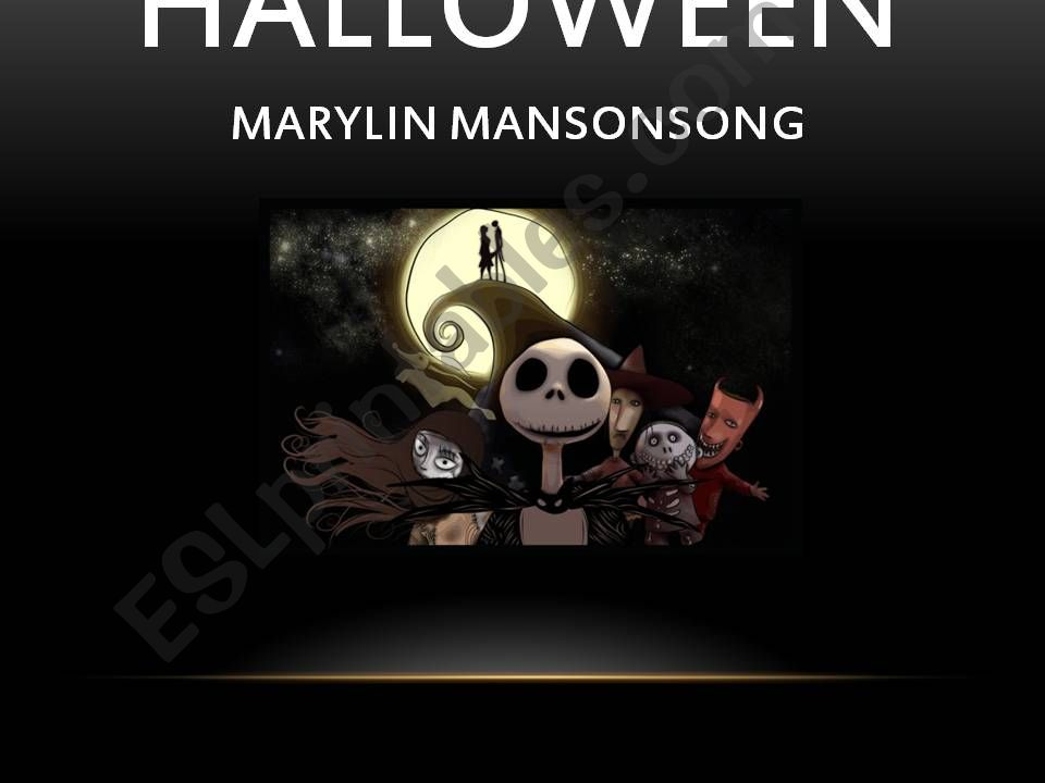 This is Halloween powerpoint