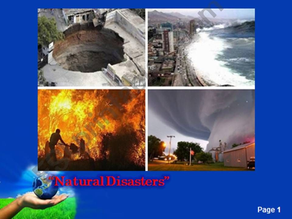 Natural Disasters-1 powerpoint