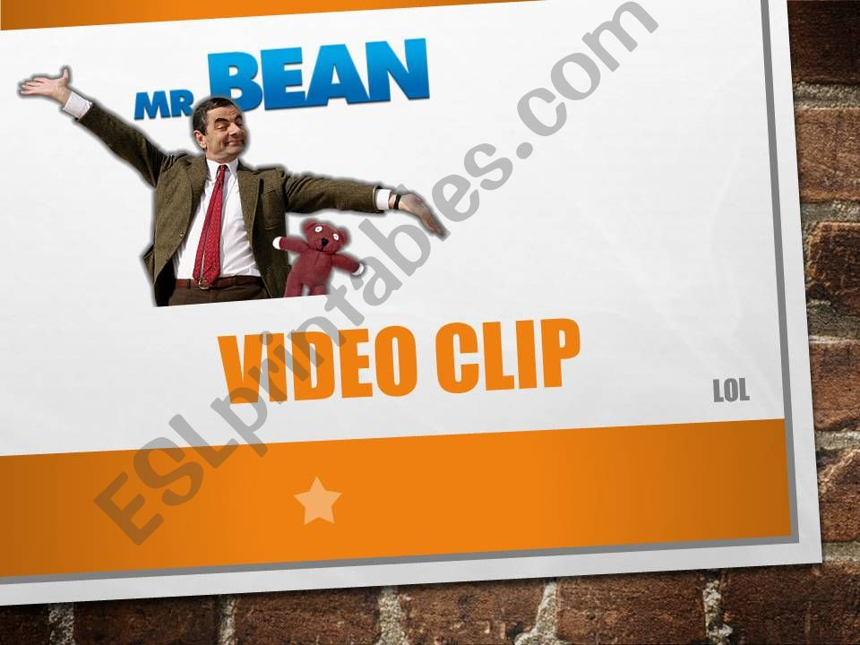 PARTS OF THE BODY_MR BEAN VIDEO CLIP
