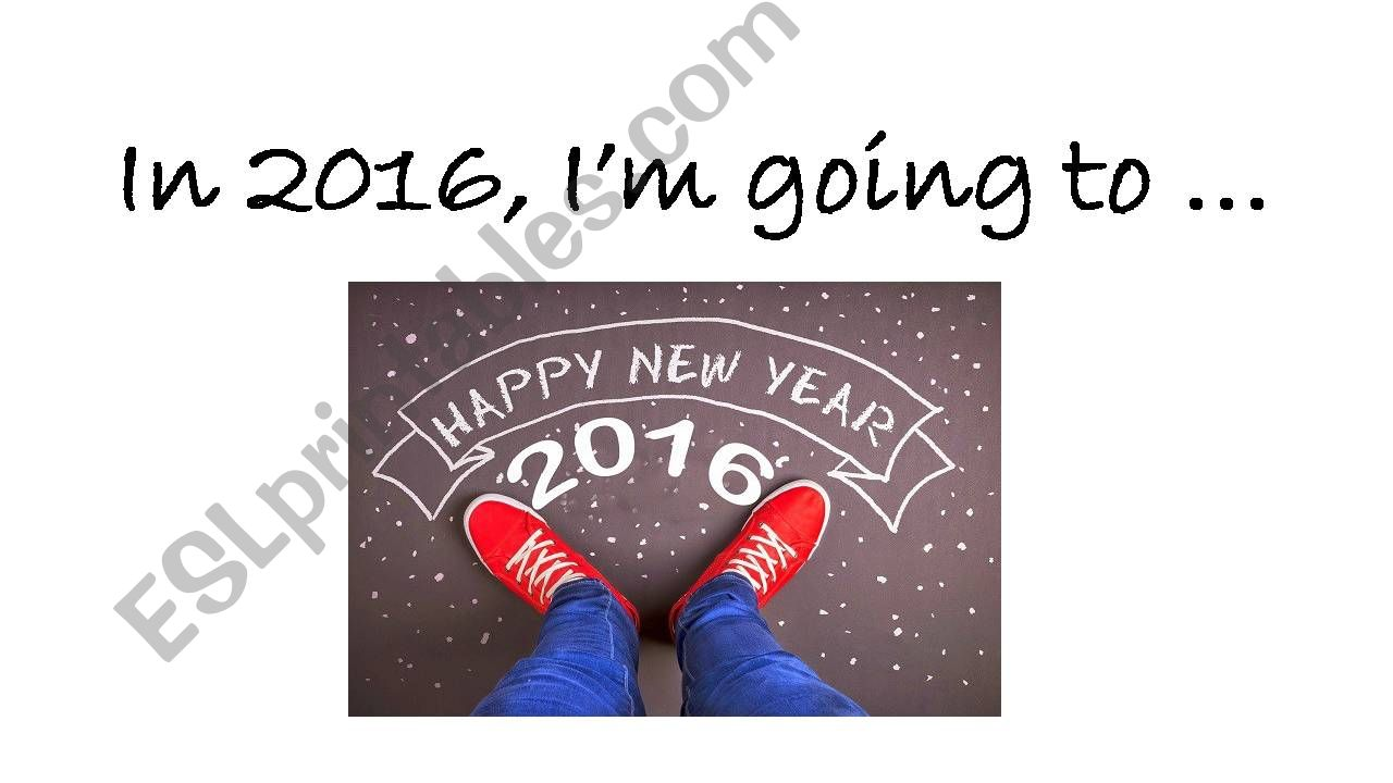 New Year´s Resolutions powerpoint