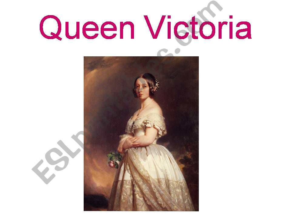 Queen Victoria powerpoint
