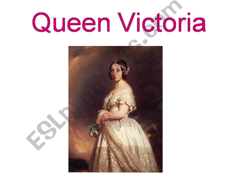 Queen Victoria powerpoint