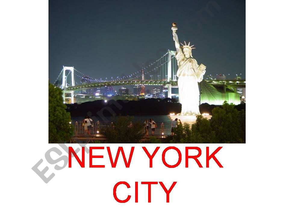 NEW YORK powerpoint