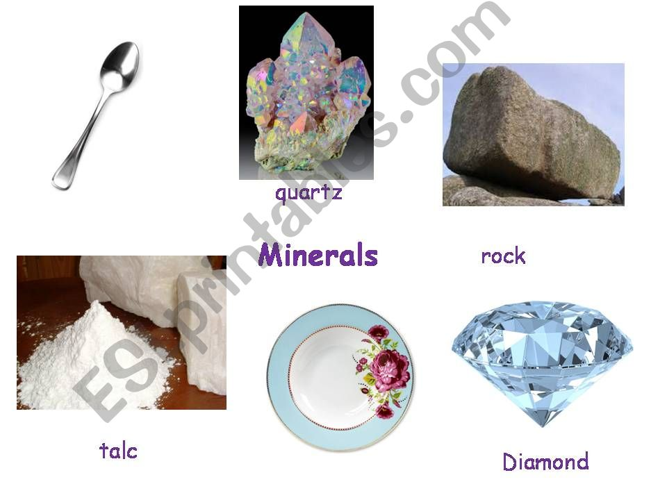 How are minerals classified powerpoint