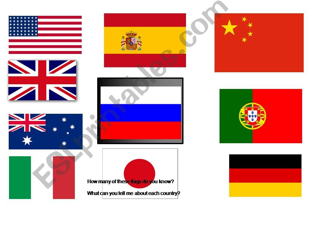 Flag of the week powerpoint