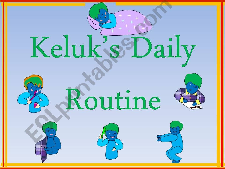 A Student´s Daily Routine--Part One