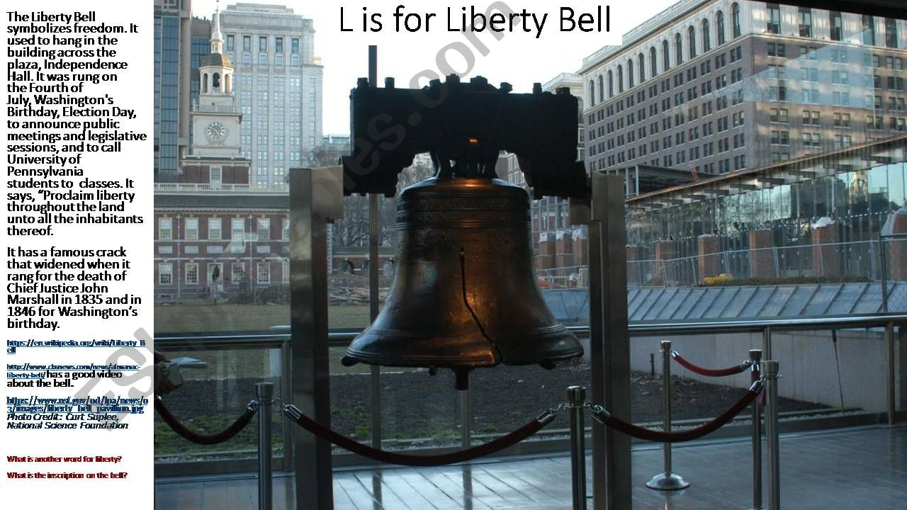 ABCs of Philadelphia, a Tour of History, Sights, and Culture--Part Three