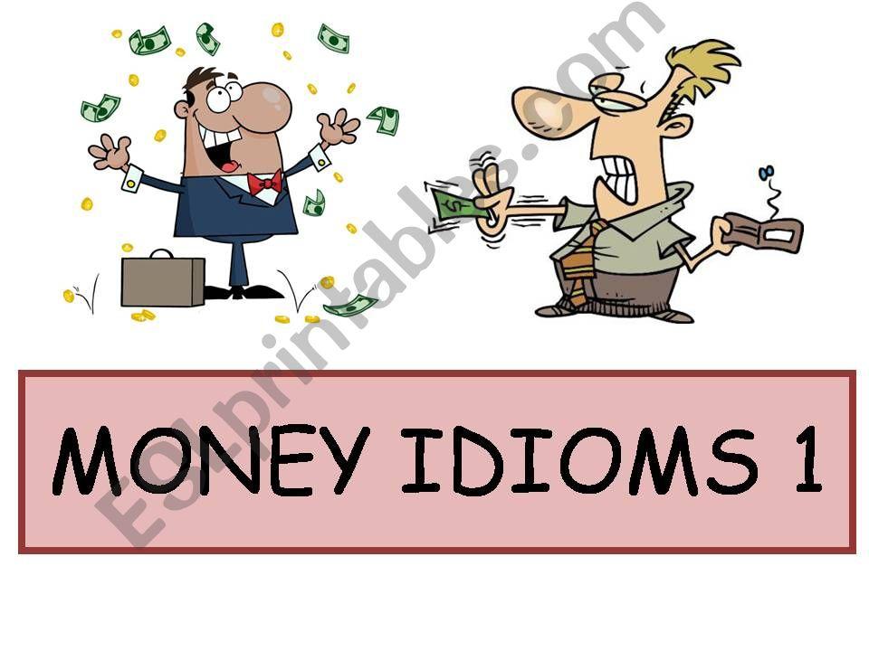 Money Idioms 1 powerpoint
