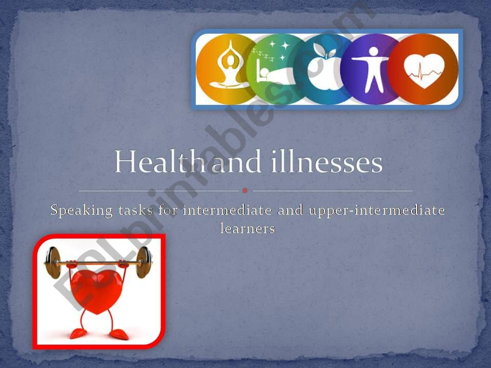 Health and illnesses powerpoint